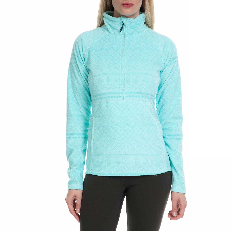 ROXY - Γυναικεία μακρυμάνικη μπλούζα CASCADE J OTLR γαλάζια γυναικεία ρούχα αθλητικά φούτερ μακρυμάνικα