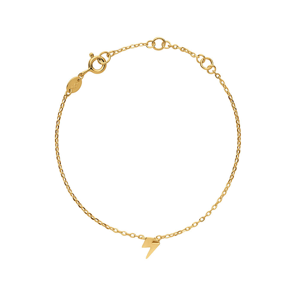 LINKS OF LONDON - Γυναικείο βραχιόλι Outlet Lightning σε χρυσή απόχρωση γυναικεία αξεσουάρ κοσμήματα βραχιόλια