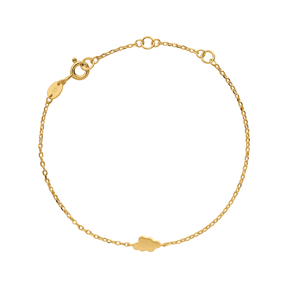 LINKS OF LONDON - Ασημένιο βραχιόλι Outlet Cloud γυναικεία αξεσουάρ κοσμήματα βραχιόλια