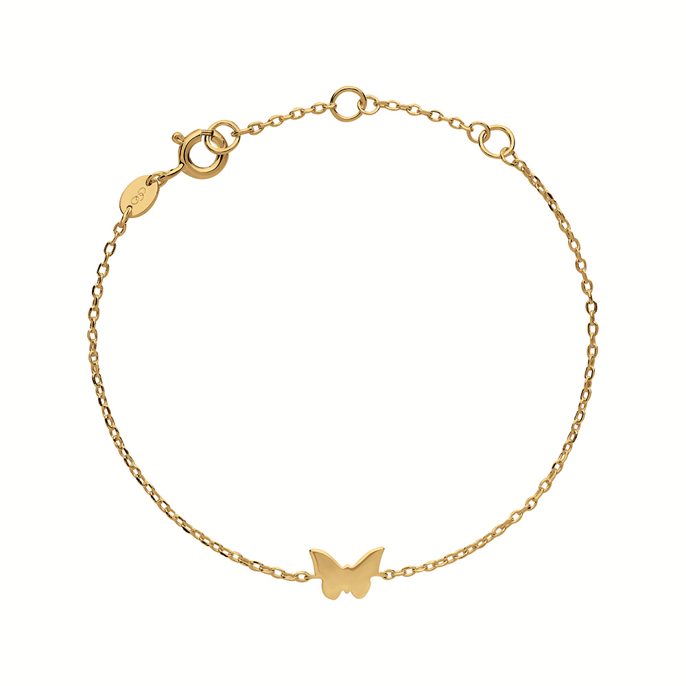LINKS OF LONDON - Ασημένιο βραχιόλι Outlet Butterfly γυναικεία αξεσουάρ κοσμήματα βραχιόλια