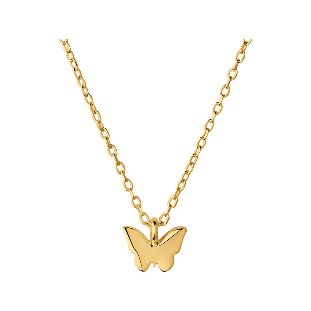 LINKS OF LONDON - Ασημένιο κολιέ Outlet Butterfly γυναικεία αξεσουάρ κοσμήματα κολιέ