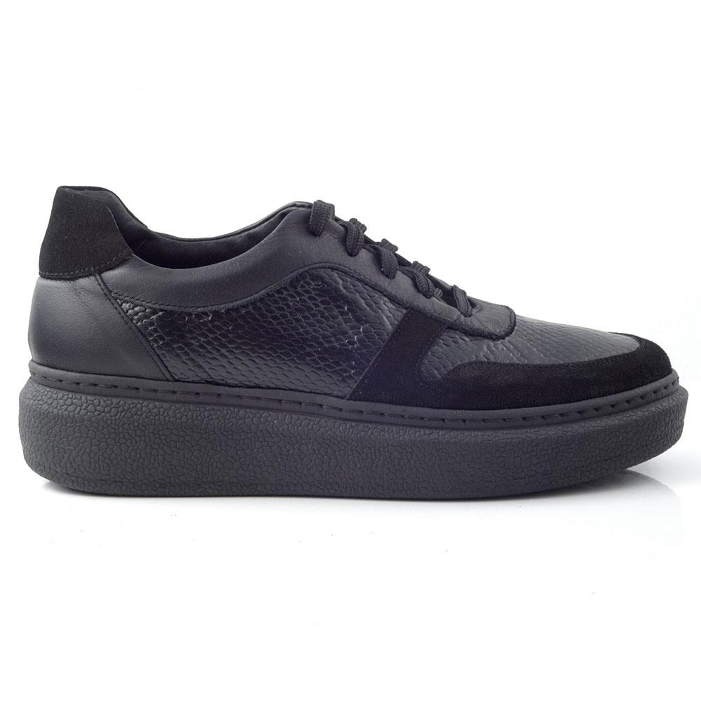 CHANIOTAKIS – Γυναικεία sneakers SPORT AFRICA CHANIOTAKIS μαύρα