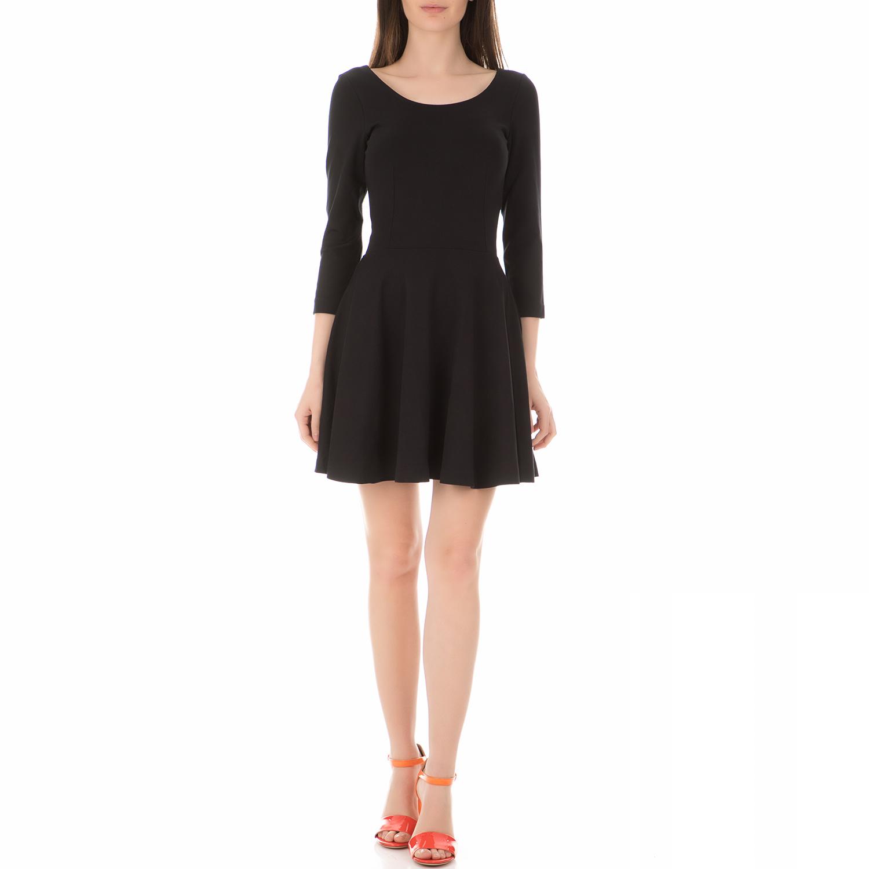 CALVIN KLEIN JEANS - Γυναικείο μίνι φόρεμα CALVIN KLEIN JEANS DORIAN μαύρο