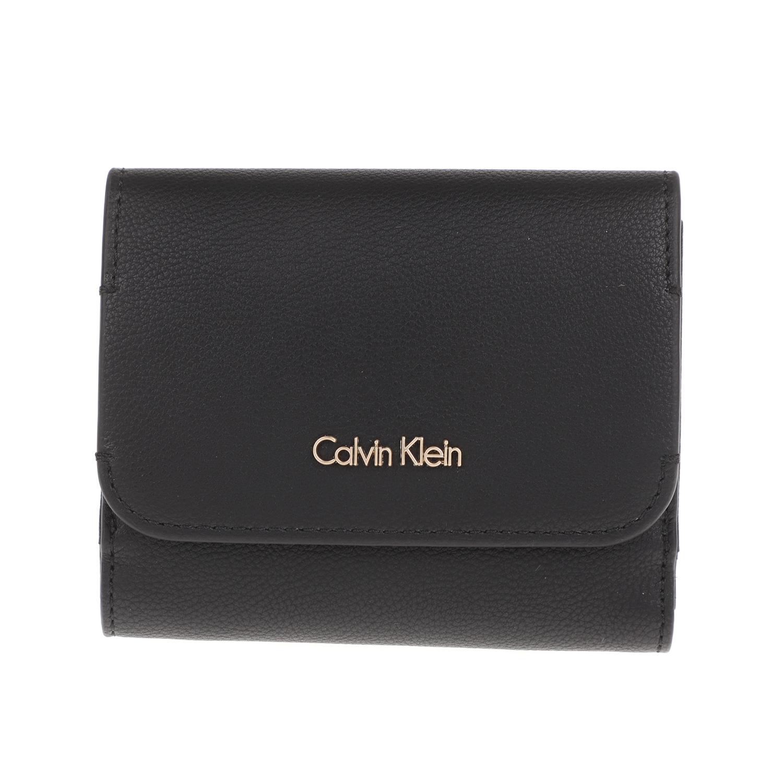 CALVIN KLEIN JEANS - Γυναικείο πορτοφόλι METROPOLITAN CALVIN KLEIN JEANS μαύρο γυναικεία αξεσουάρ πορτοφόλια μπρελόκ πορτοφόλια