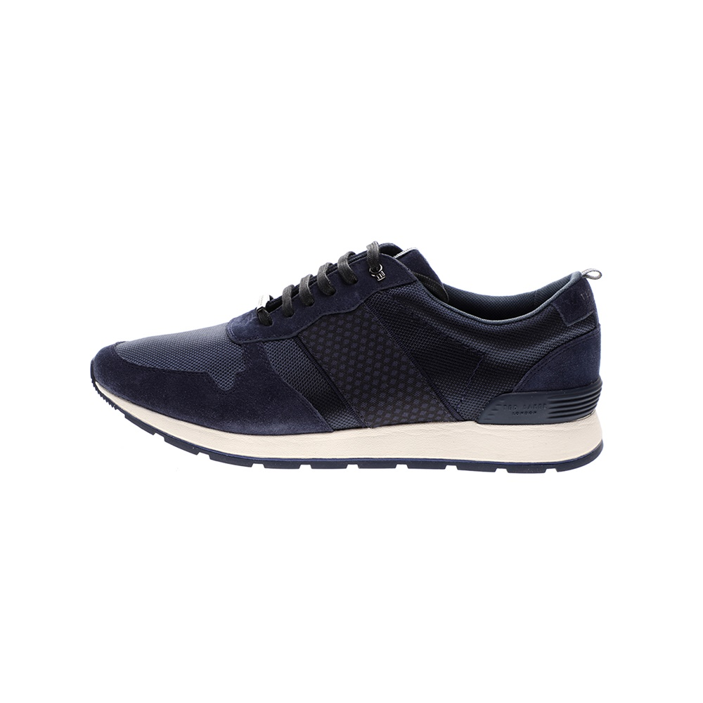 TED BAKER – Ανδρικά sneakers TED BAKER HEBEY μπλε