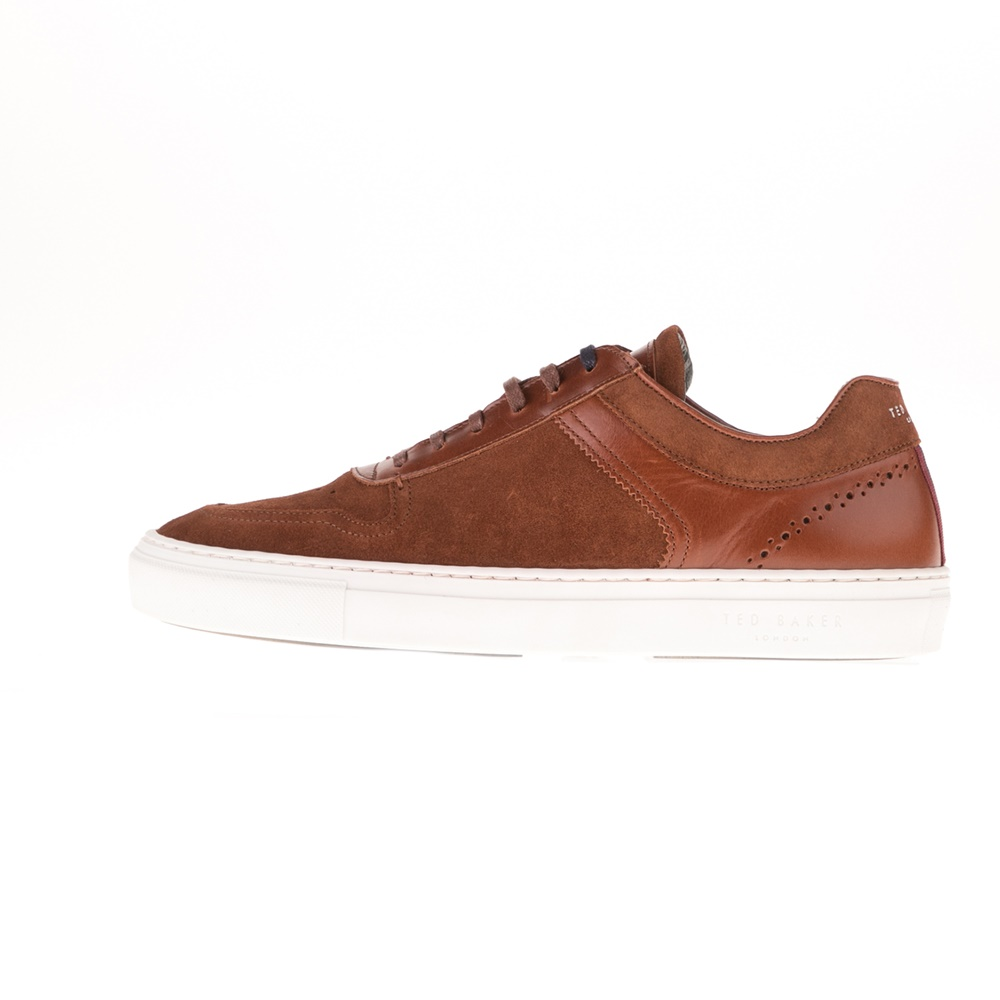 TED BAKER – Ανδρικά sneakers TED BAKER BURALL καφέ