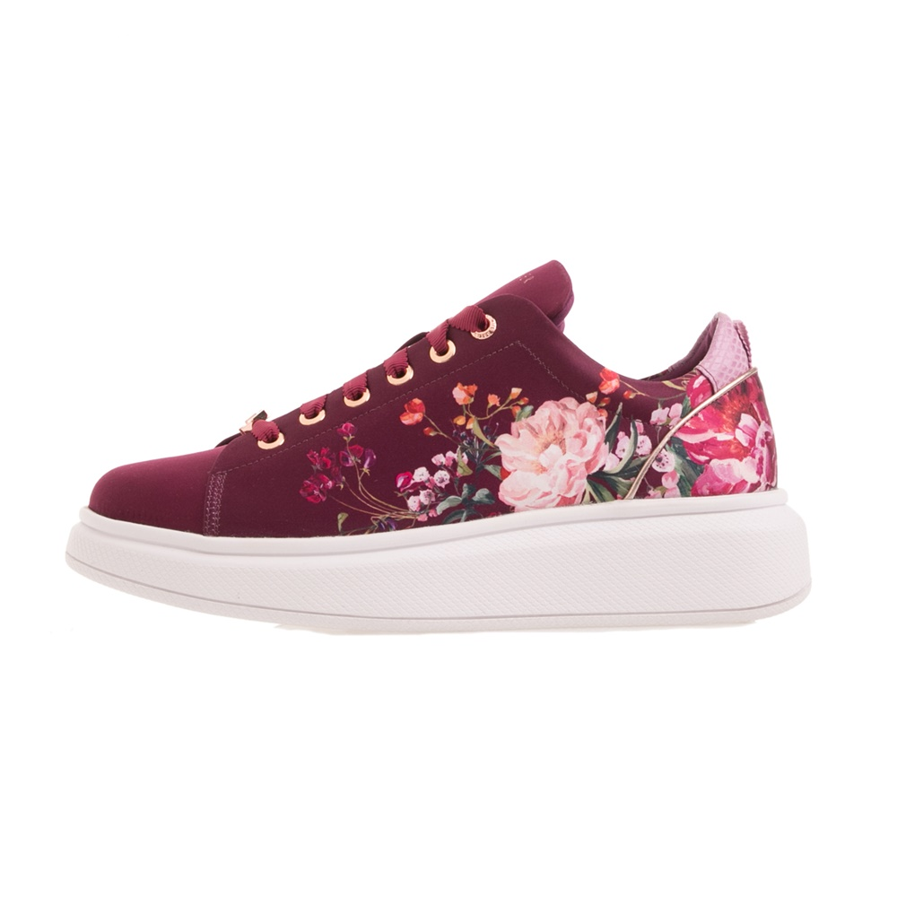TED BAKER – Γυναικεία sneakers TED BAKER AILBET μπορντό