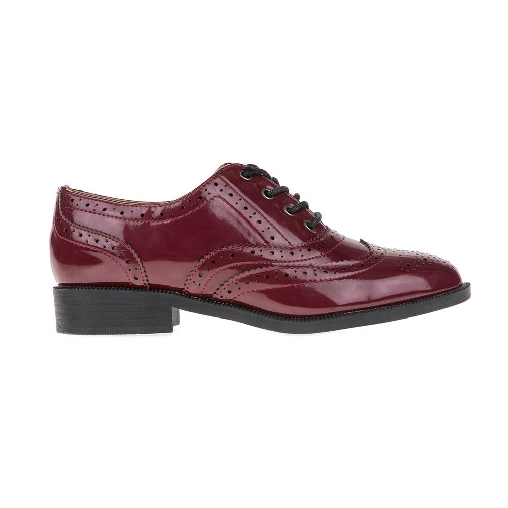 FUNKY BUDDHA - Γυναικεία παπούτσια FUNKY BUDDHA κόκκινα γυναικεία παπούτσια μοκασίνια μπαλαρίνες μοκασίνια
