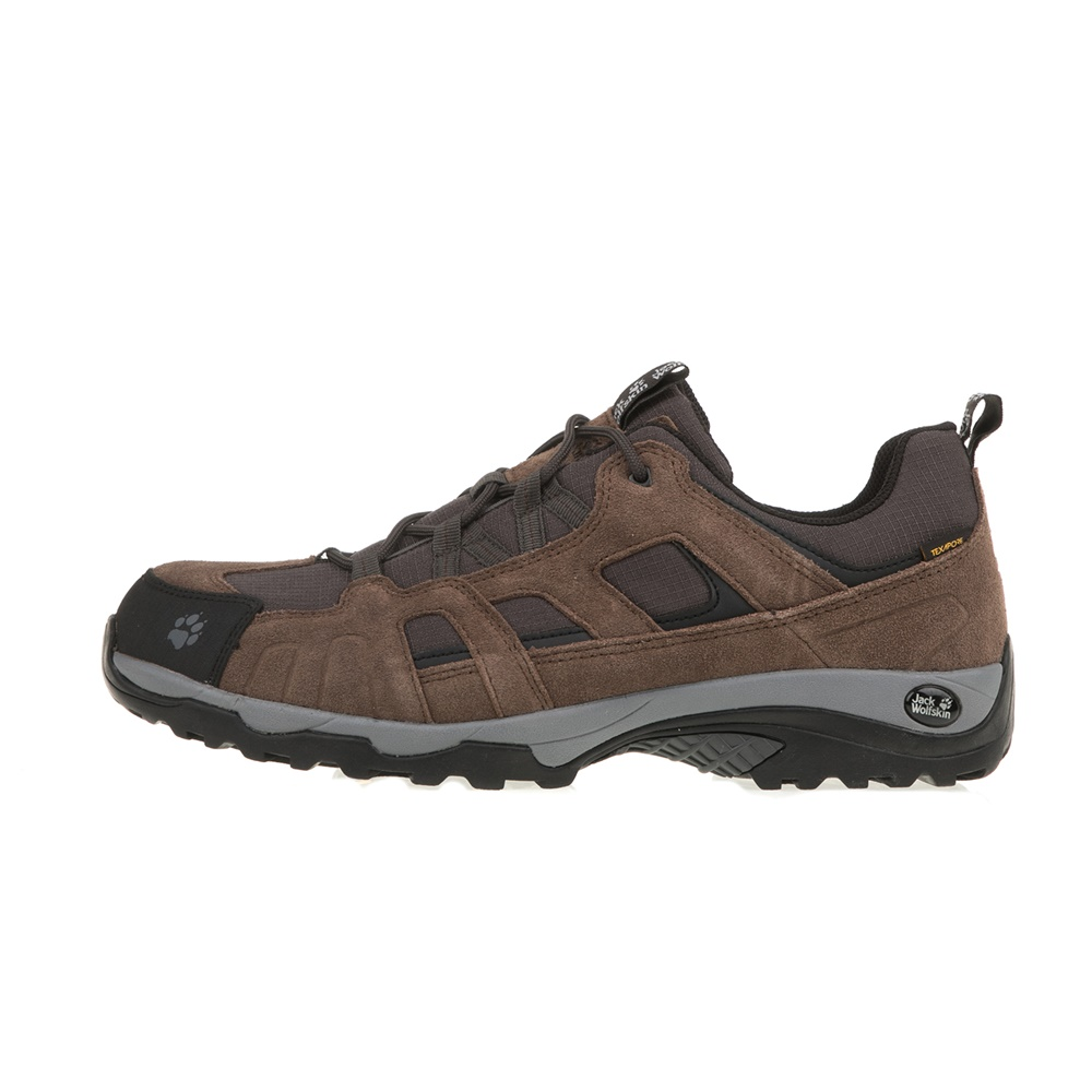 JACK WOLFSKIN – Ανδρικά αθλητικά παπούτσια πεζοπορίας VOJO HIKE TEXAPORE JACK WOLFSKIN καφέ