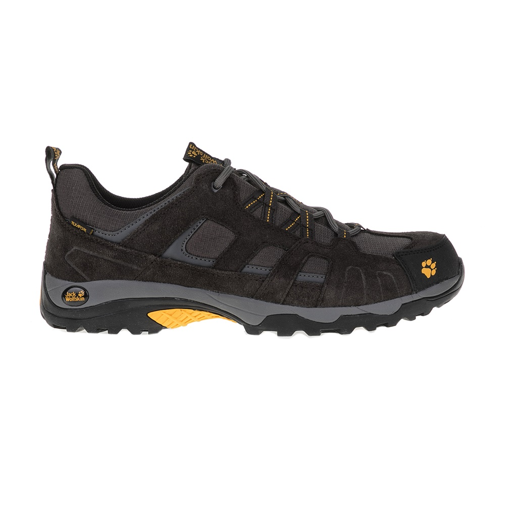 JACK WOLFSKIN – Ανδρικά παπούτσια πεζοπορίας VOJO HIKE TEXAPORE μαύρα