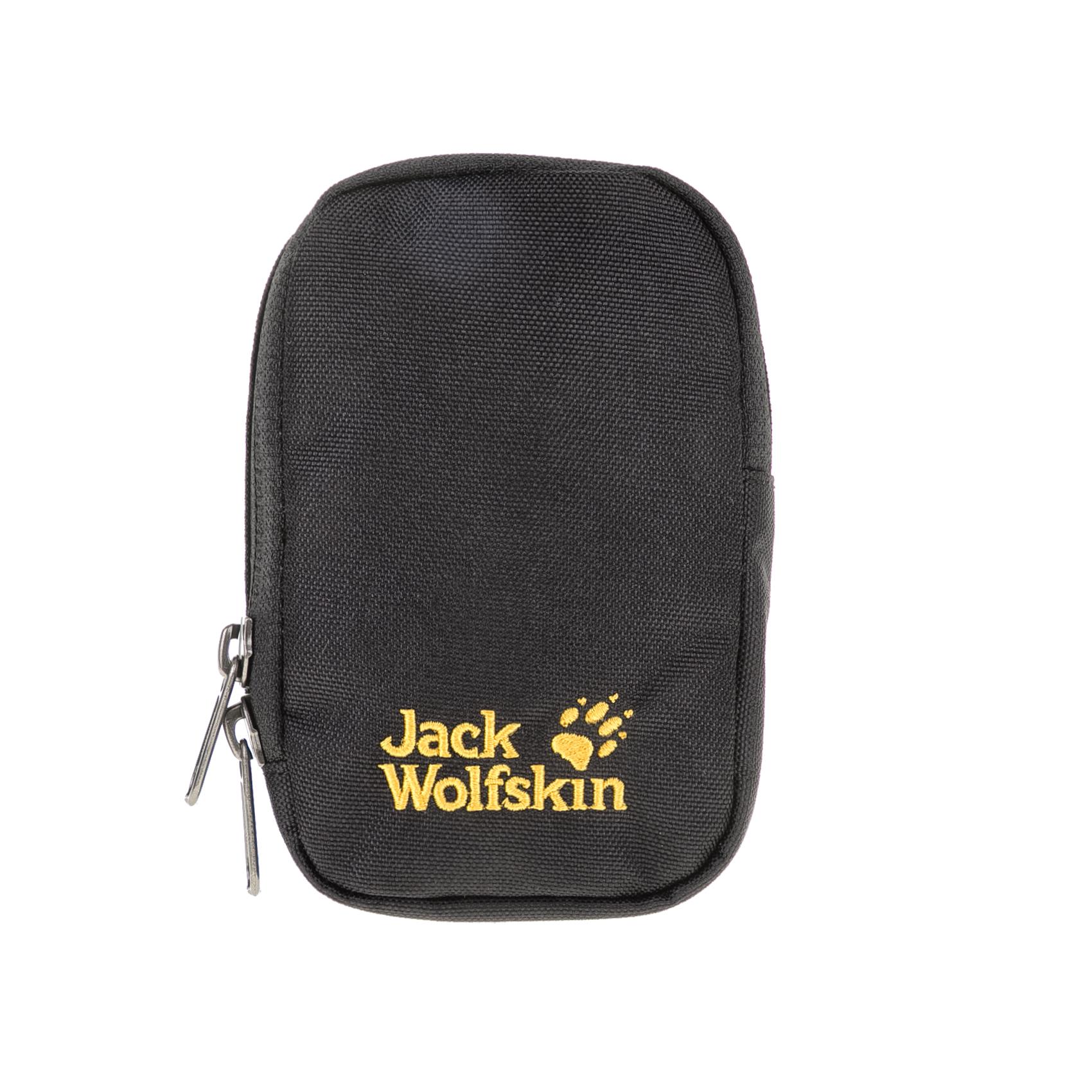 JACK WOLFSKIN - Θήκη ηλεκτρονικών συσκευών GADGET POUCH S POUCH EQUIPMENT μαύρη γυναικεία αξεσουάρ αθλητικά είδη εξοπλισμός