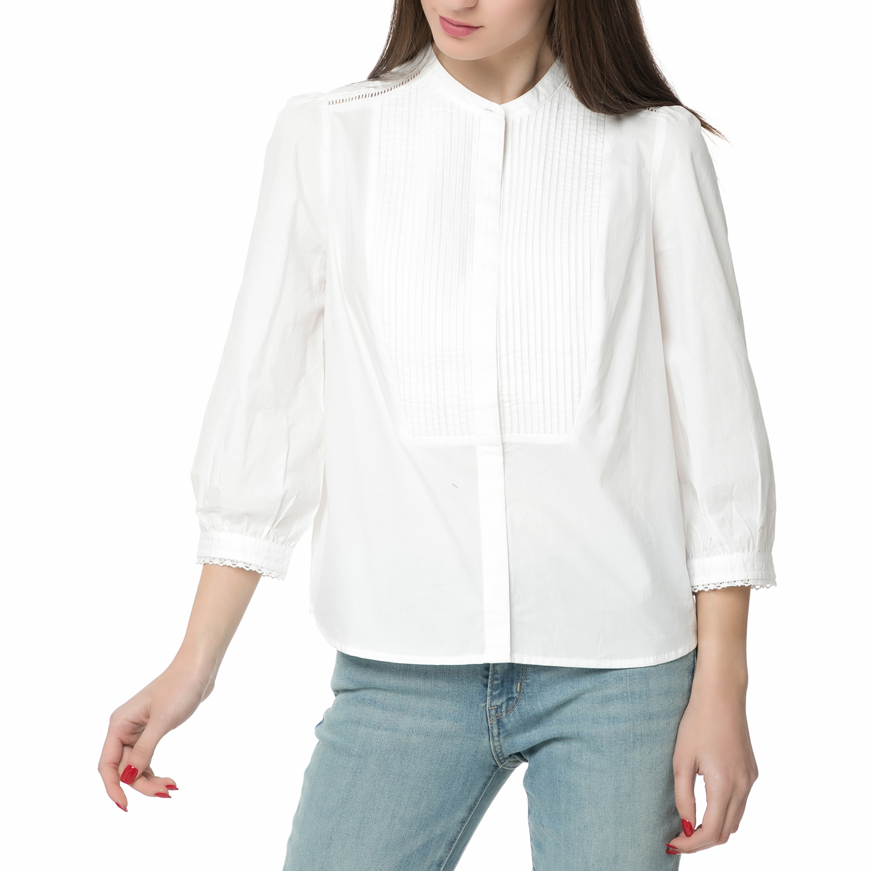 7baf6a367aad Γυναικεία   Ρούχα   Πουκάμισα   Γυναικείο πουκάμισο με έξω ώμους ...