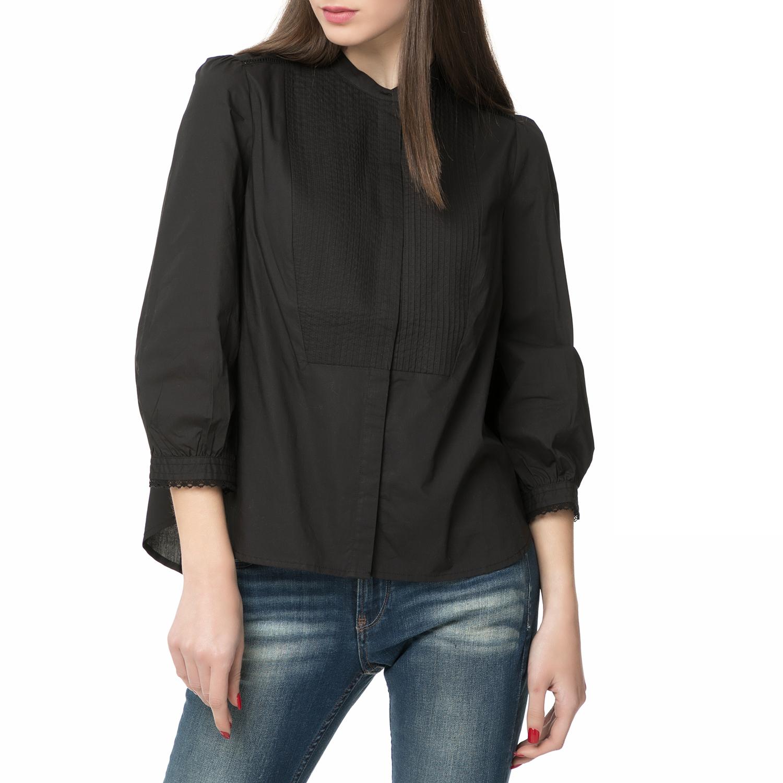 LEVI S – Γυναικείο μακρυμάνικο πουκάμισο LEVI S LARA μαύρο 28f32561b60