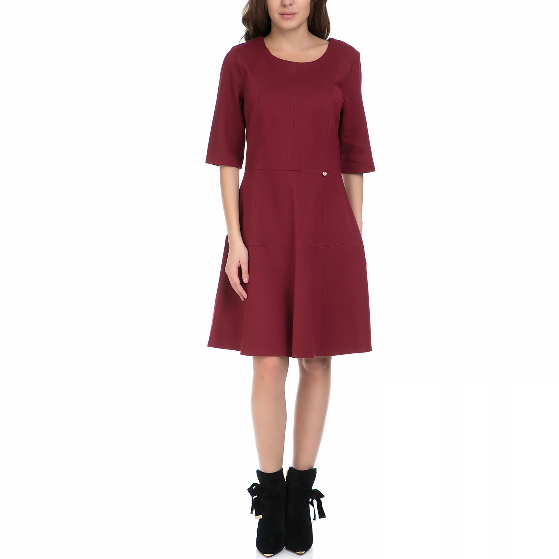 VS - Γυναικείο φόρεμα VS κόκκινο γυναικεία ρούχα φορέματα μέχρι το γόνατο