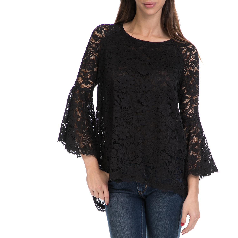 VS - Γυναικεία μπλούζα VS μαύρη γυναικεία ρούχα μπλούζες μακρυμάνικα