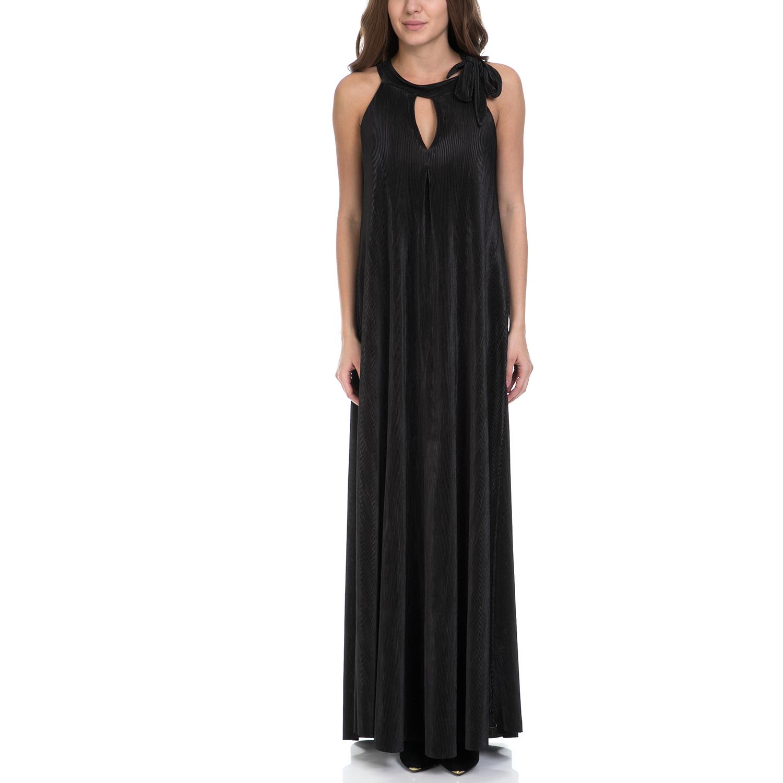 MY TIFFANY - Γυναικείο φόρεμα MY TIFANNY μαύρο γυναικεία ρούχα φορέματα μάξι