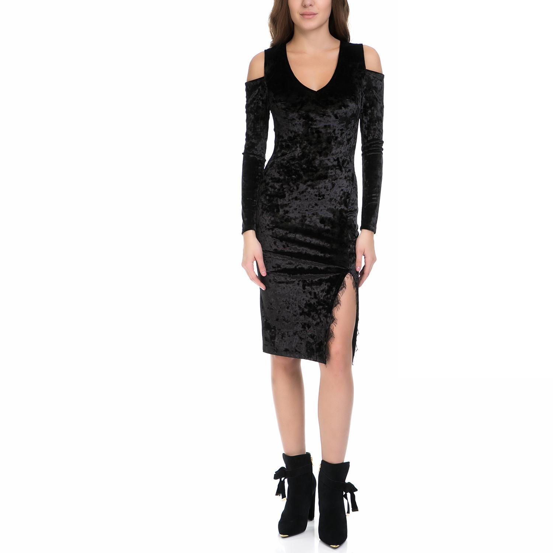 MY TIFFANY - Γυναικείο φόρεμα MY TIFFANY μαύρο