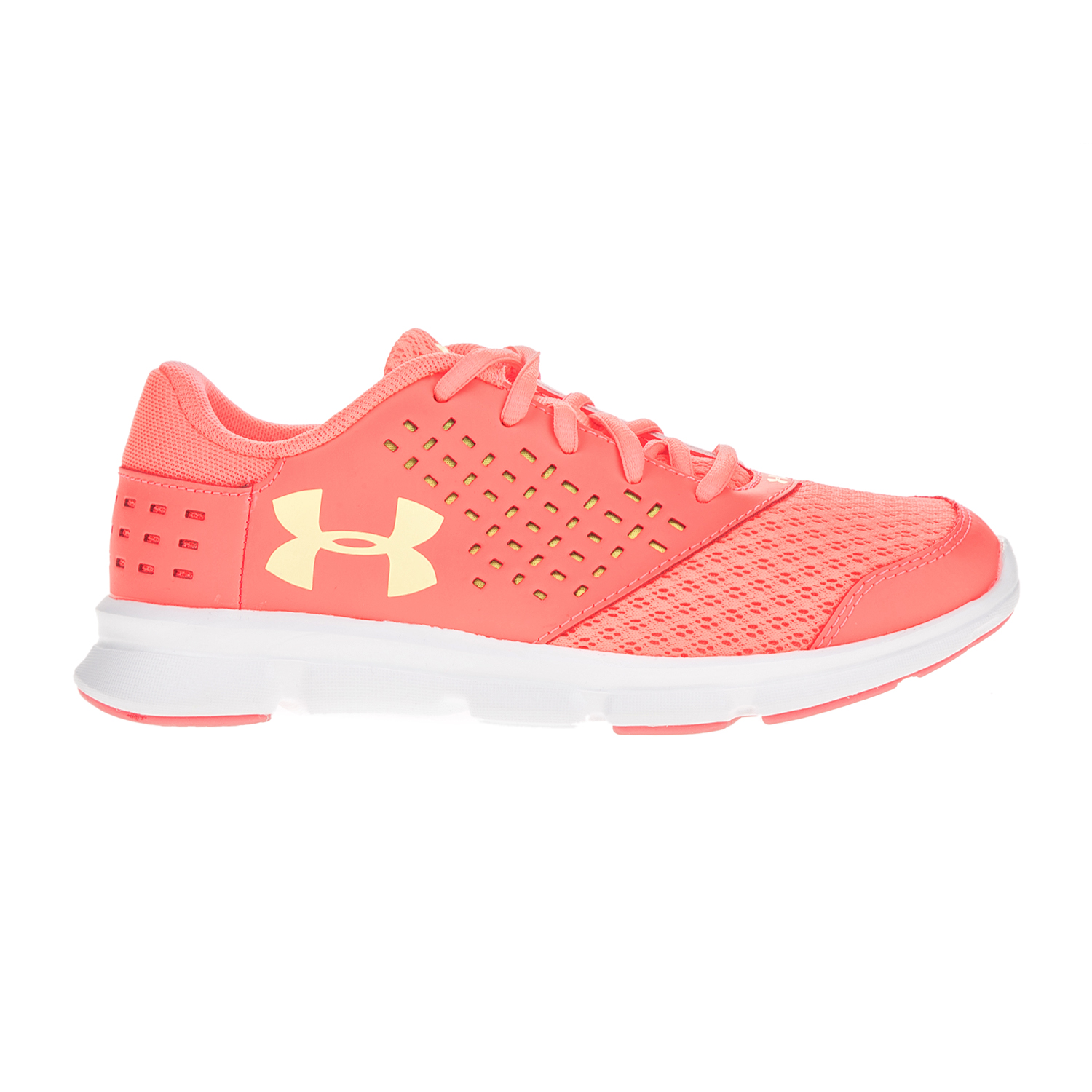 UNDER ARMOUR – Κοριτσίστικα αθλητικά παπούτσια UNDER ARMOUR GPS Rave RN πορτοκαλί