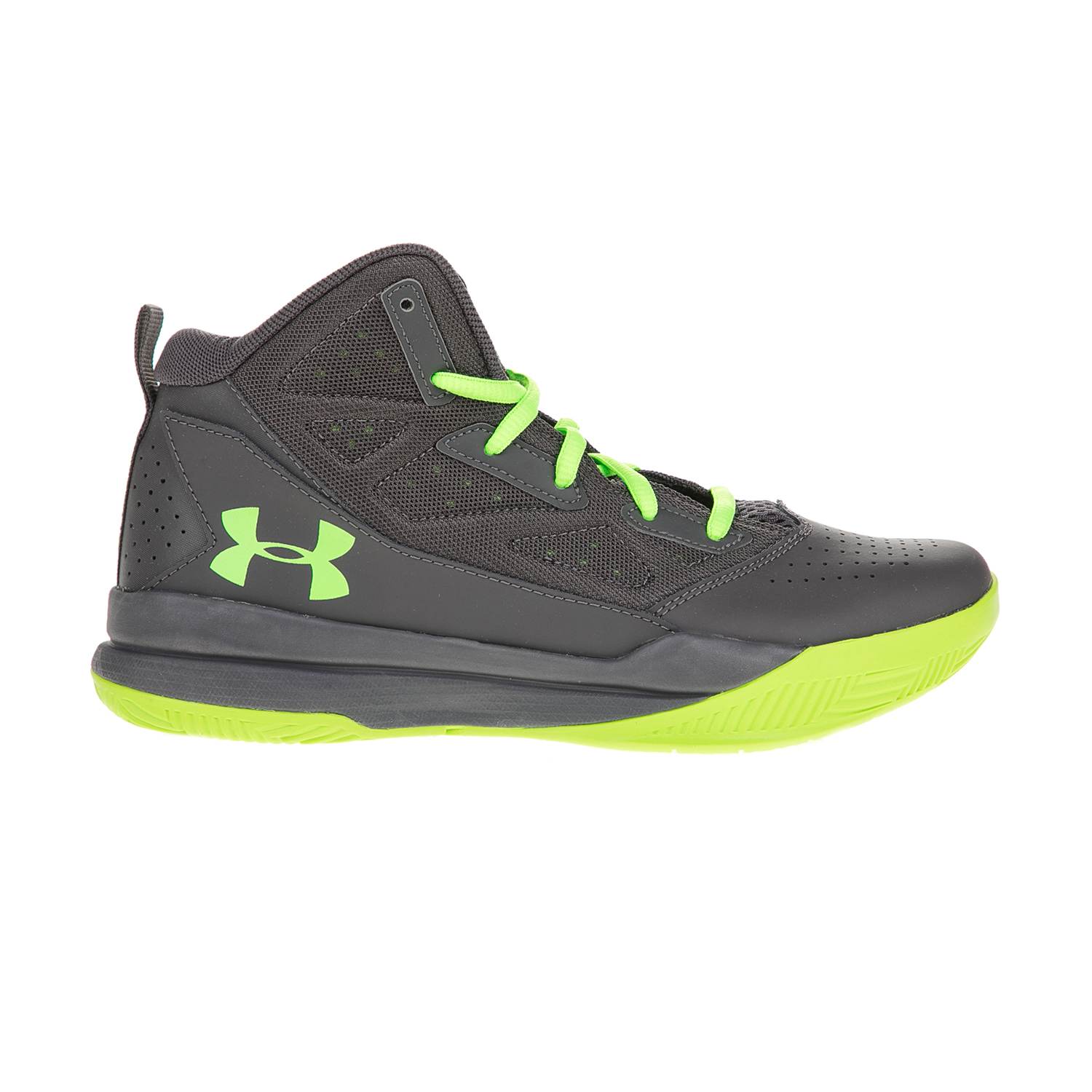 UNDER ARMOUR – Αγορίστικα αθλητικά παπούτσια UNDER ARMOUR BGS Jet Mid μαύρα