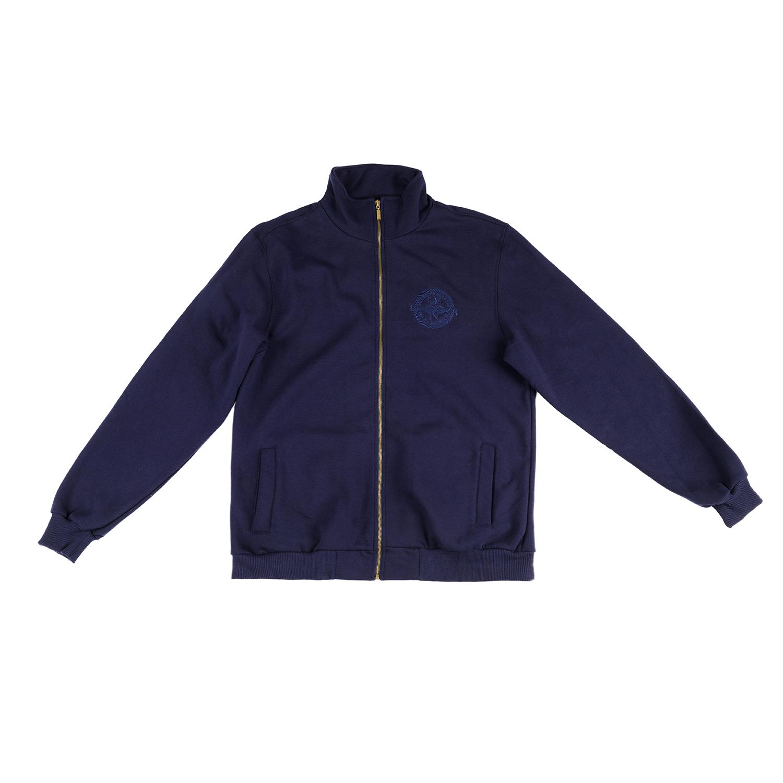 CATAMARAN SAILWEAR - Ανδρική μακρυμάνικη φούτερ ζακέτα CATAMARAN SAILWAYS  μπλε b49ff6adb26