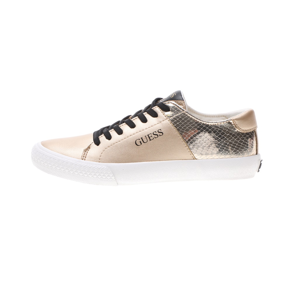 GUESS KIDS – Παιδικά sneakers GUESS KIDS LARA χρυσά