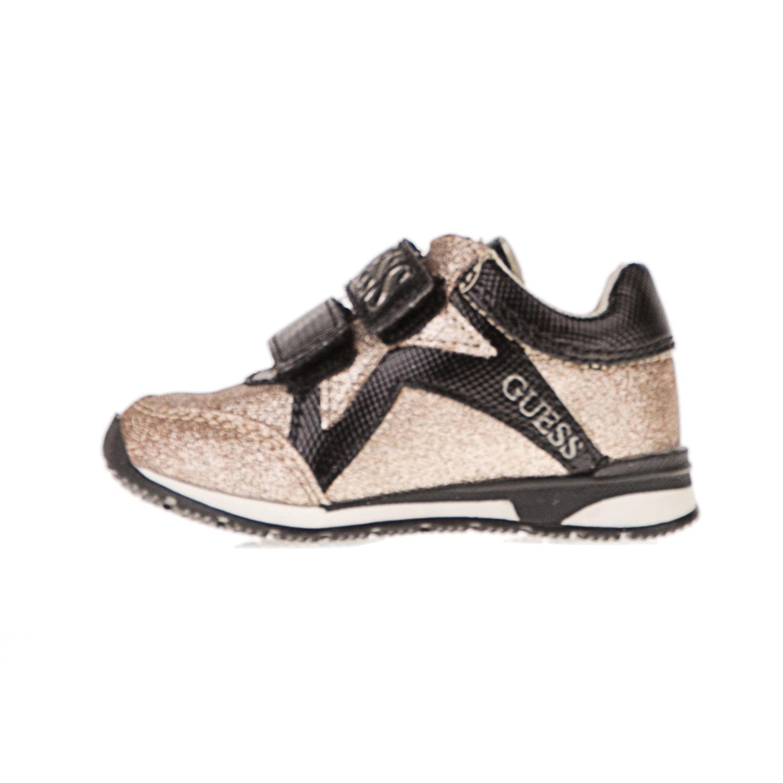 GUESS KIDS – Παιδικά sneakers GUESS KIDS FTLIT3 ELE12 χρυσά