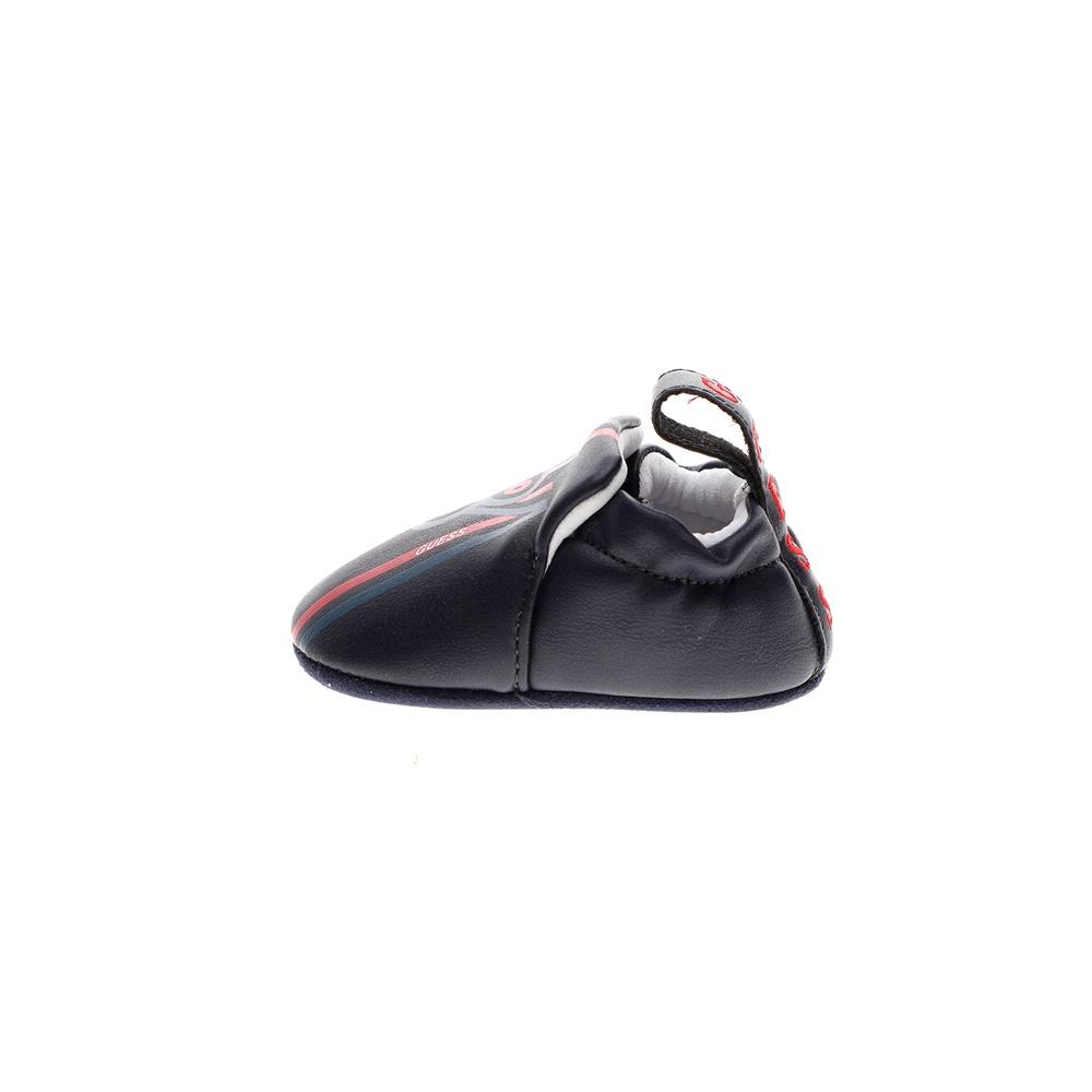 GUESS KIDS – Βρεφικό παπούτσι αγκαλιάς GUESS KIDS ZANE SHOOTIE μπλέ