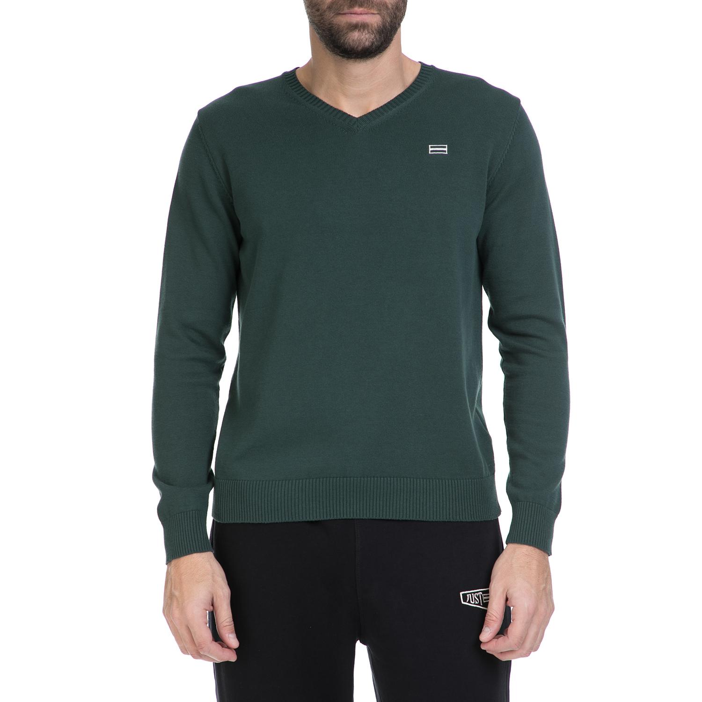 JUST POLO - Ανδρικό πουλόβερ Just Polo πράσινο
