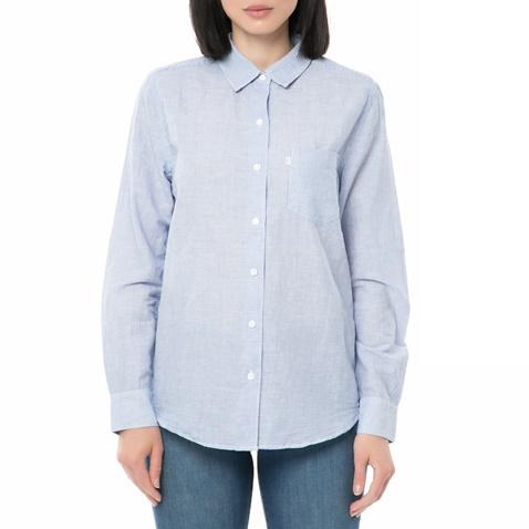da90e6138568 Γυναικείο τζιν ριγέ πουκάμισο SIDNEY BOYFRIEND γαλάζιο - LEVI S  (1640265.0-s506)