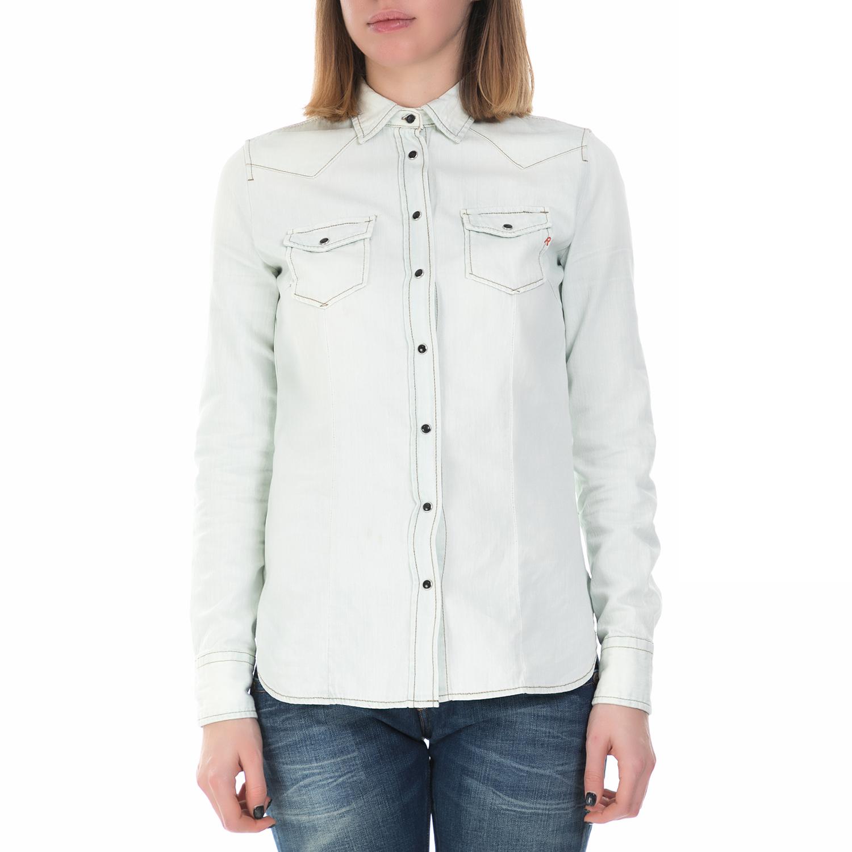 REPLAY - Γυναικείο πουκάμισο Replay λευκό 6a7b8d0e5cd