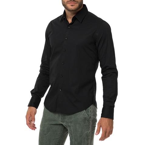 d09adc09e685 Ανδρικό μακρυμάνικο πουκάμισο REPLAY μαύρο (1640961.0-0146 ...