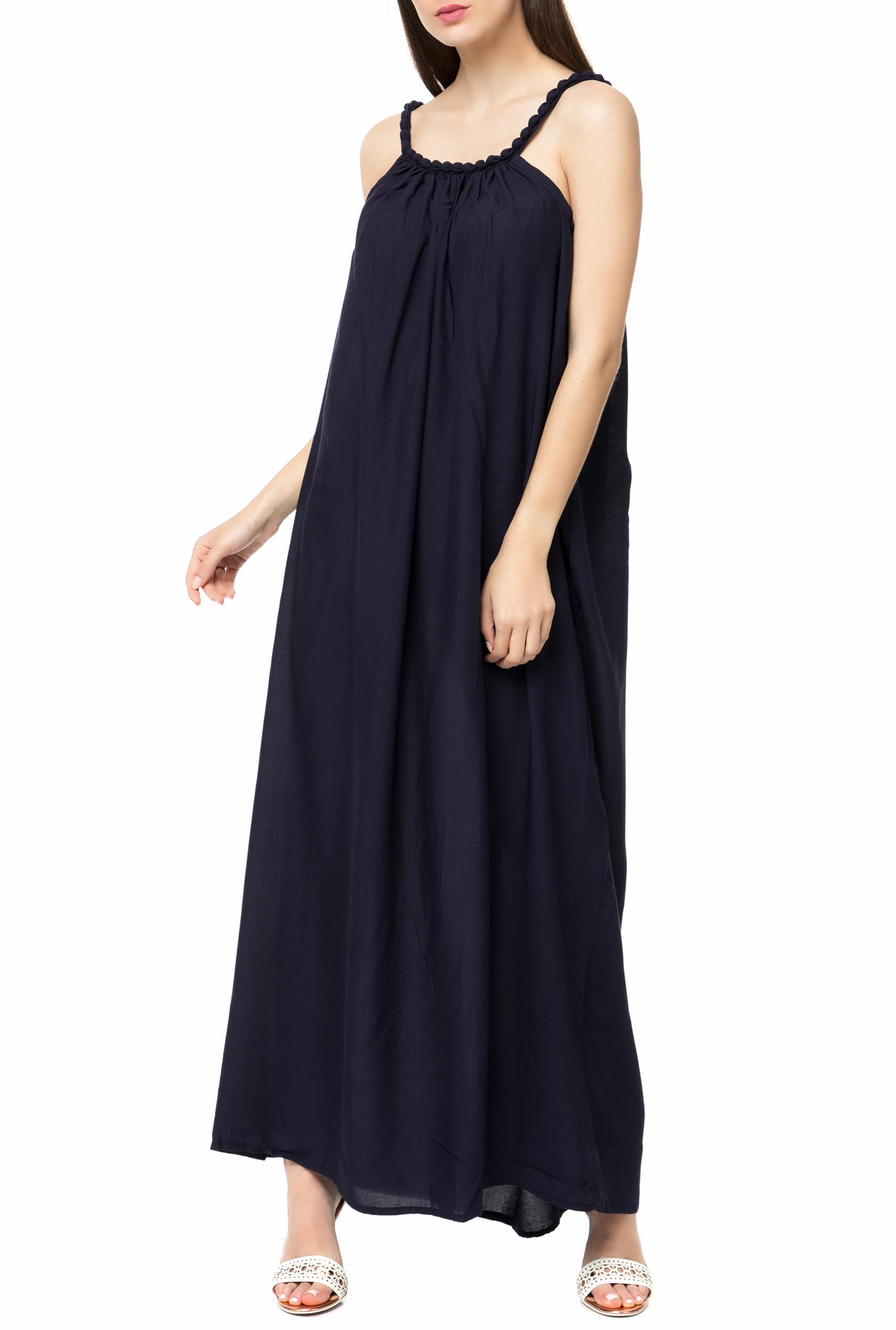 407318e6b943 MOLLY BRACKEN - Γυναικείο μάξι φόρεμα MOLLY BRACKEN μπλε