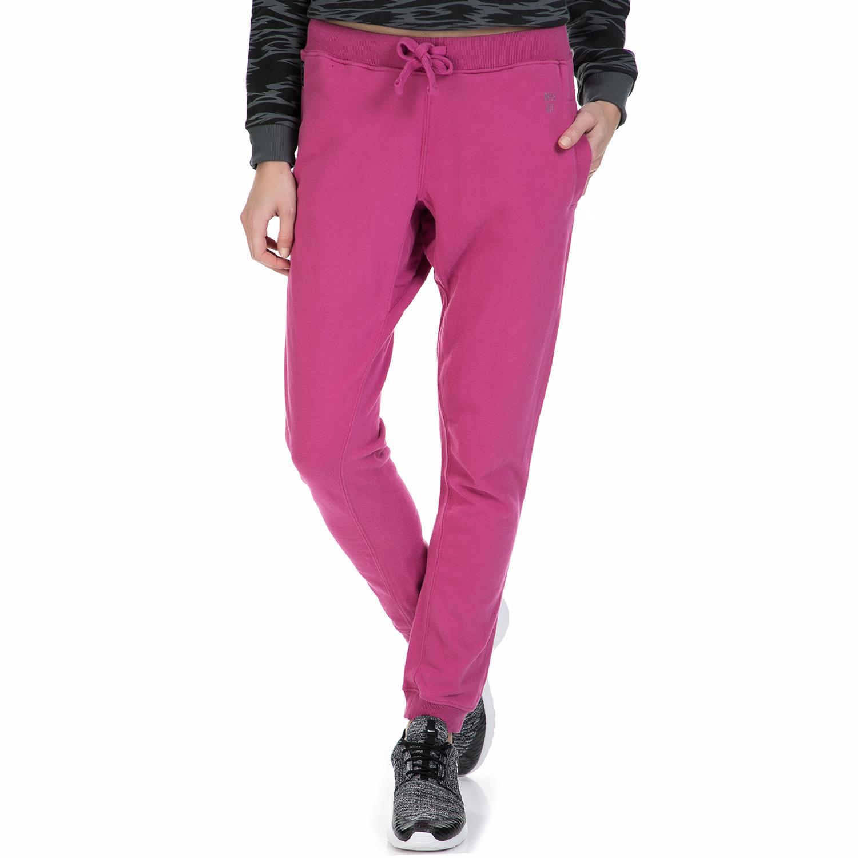 BASEHIT - Γυναικείο παντελόνι φόρμας Basehit μοβ γυναικεία ρούχα παντελόνια φόρμες