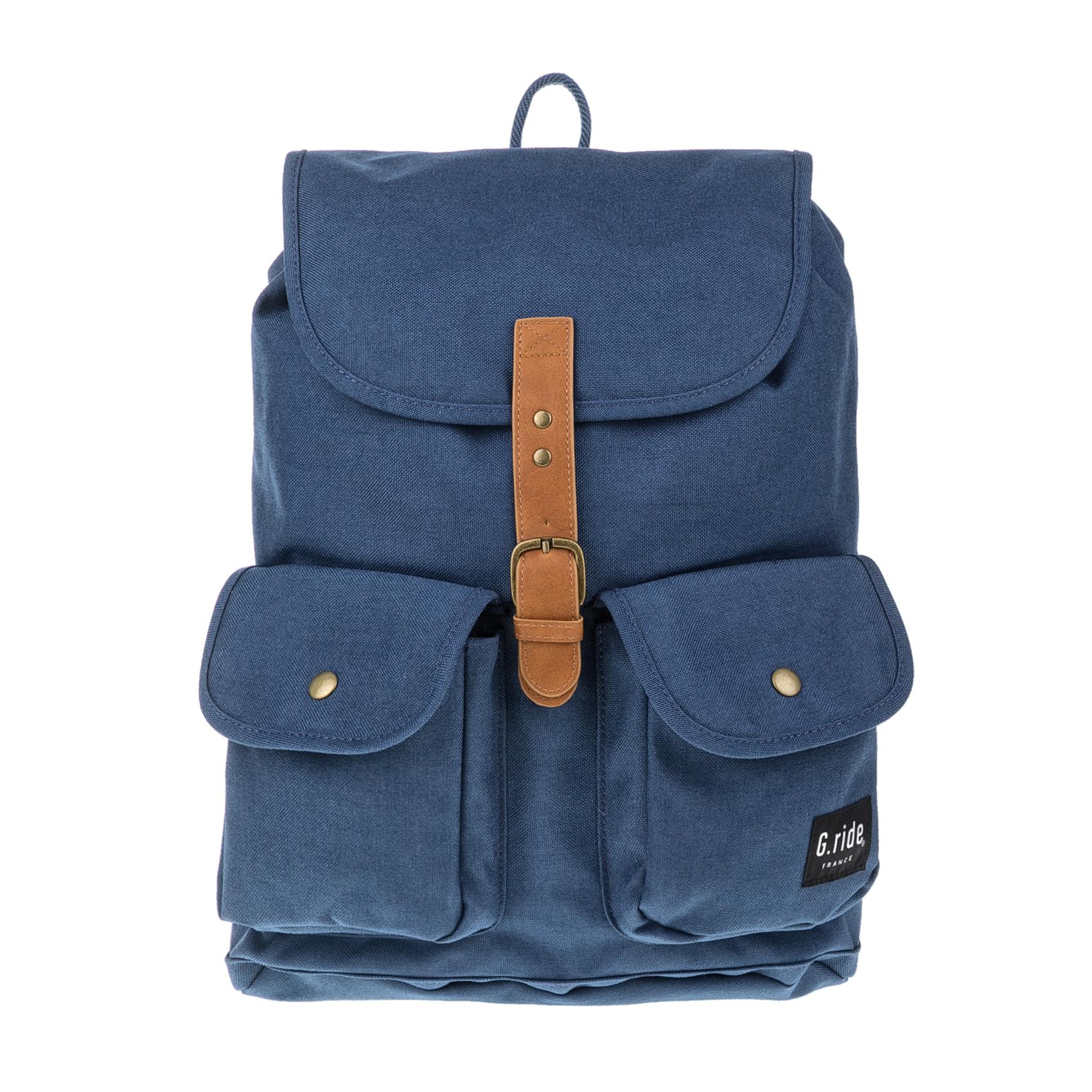 G.RIDE - Τσάντα πλάτης CHLOE μπλε γυναικεία αξεσουάρ τσάντες σακίδια πλάτης