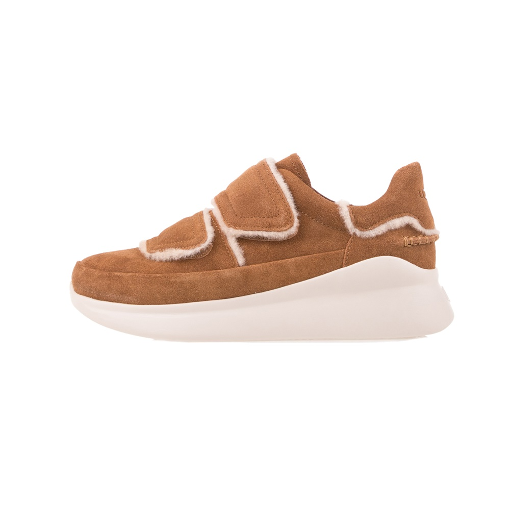 UGG – Γυναικεία sneakers UGG Ashby Spill Seam Sneaker καφέ