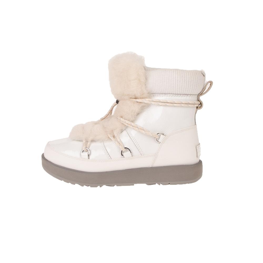 UGG – Γυναικείες μπότες UGG Highland Waterproof λευκές