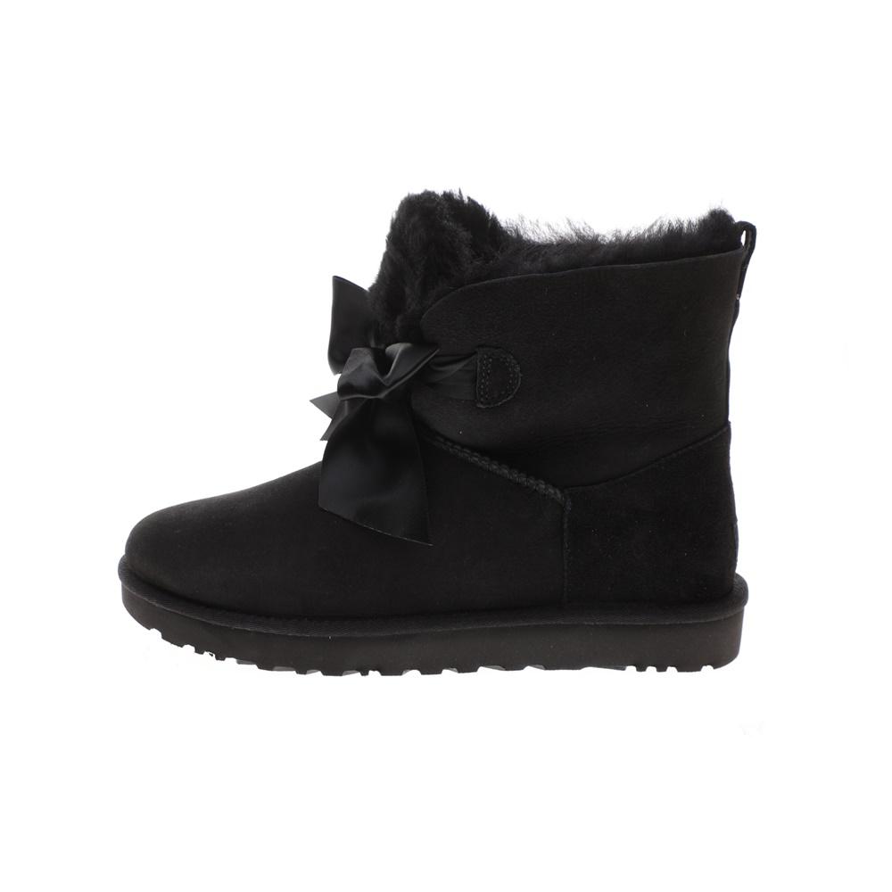 UGG – Γυναικεία μποτάκια UGG Gita Bow Mini μαύρα