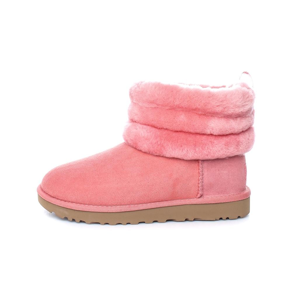 UGG – Γυναικεία μποτάκια UGG FLUFF MINI QUILTED ροζ