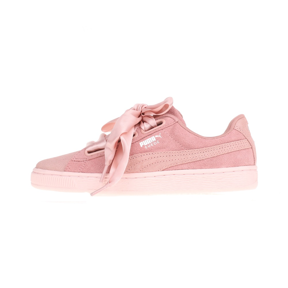 PUMA – Γυναικεία sneakers Puma SUEDE HEART PEBBLE ροζ