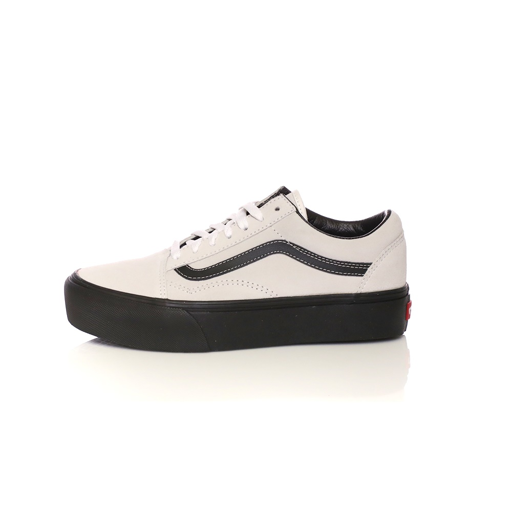 VANS – Unisex sneakers VANS Old Skool Platforms λευκά