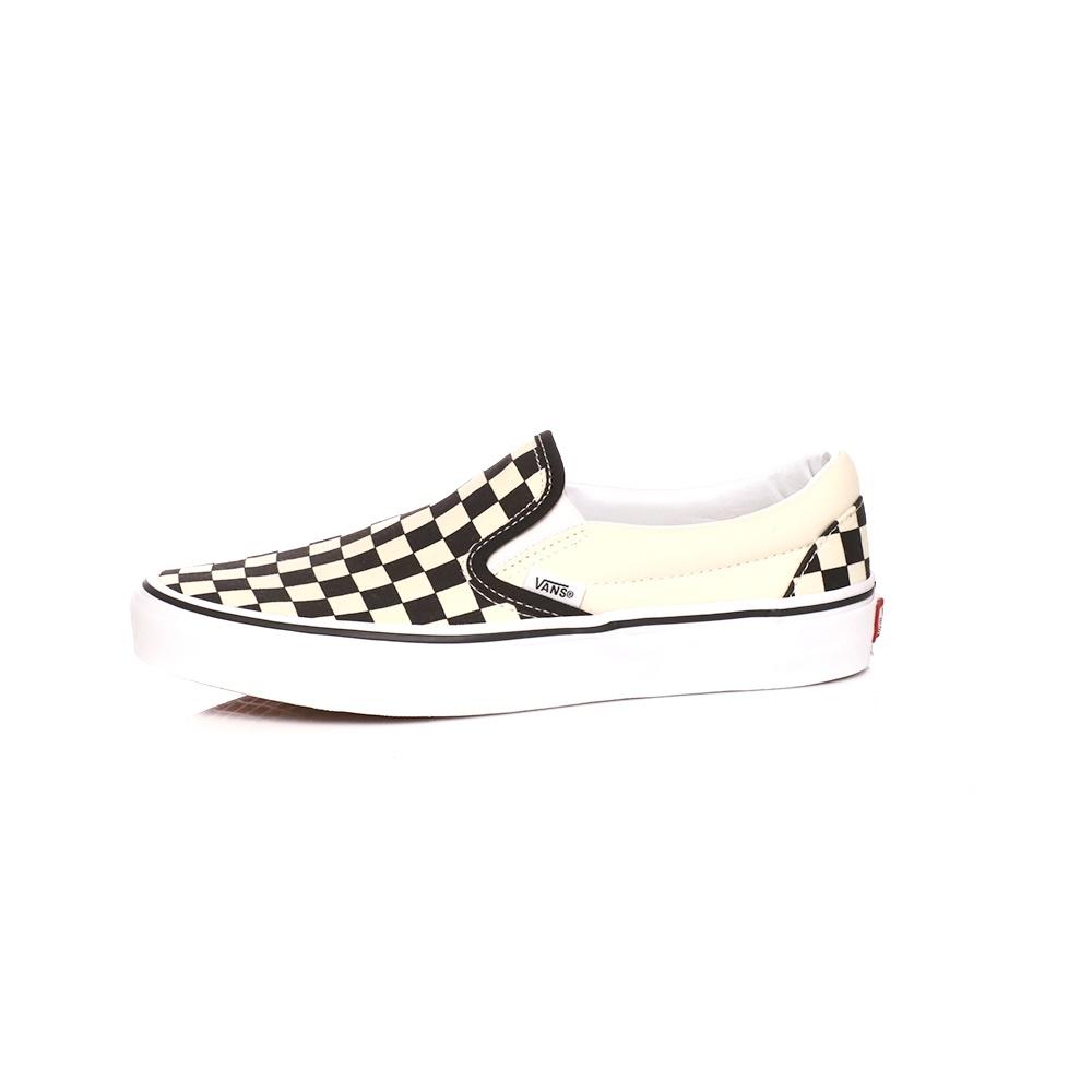 VANS – Unisex slip-on sneakers VANS Classic μαύρα-λευκά