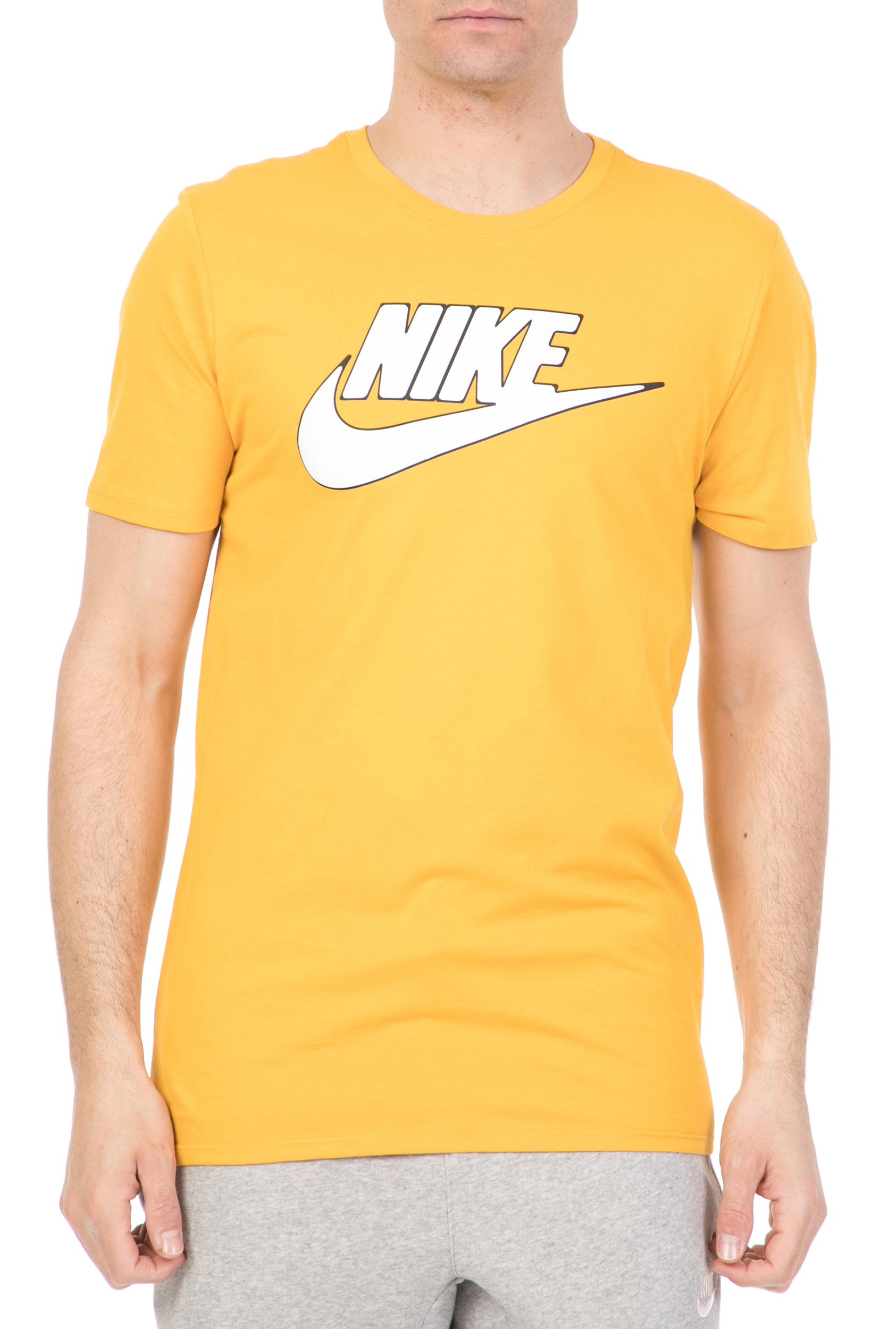 f4e203dd972b NIKE - Ανδρική κοντομάνικη μπλούζα NSW TEE TABLE HBR 2 κίτρινη