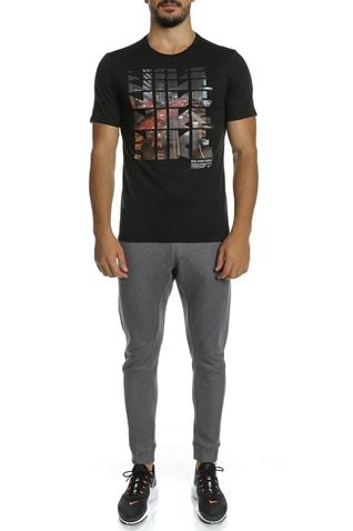 NIKE-Ανδρική κοντομάνικη μπλούζα NIKE NSW TEE TABLE HBR 29 μαύρη