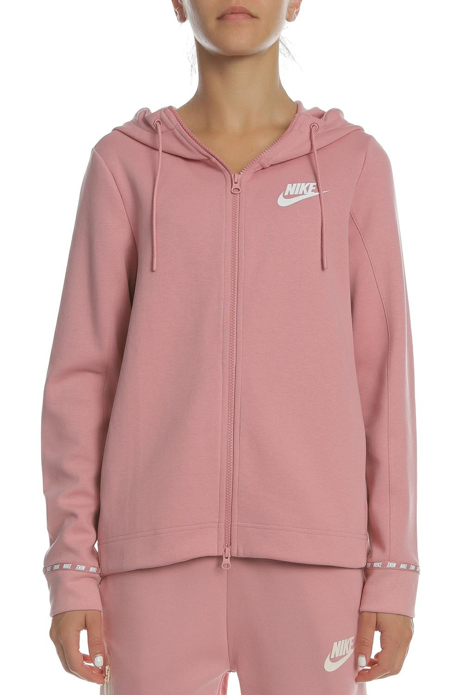 3f7d61565587 NIKE - Γυναικεία φούτερ ζακέτα NIKE NSW AV15 HOODIE FZ ροζ