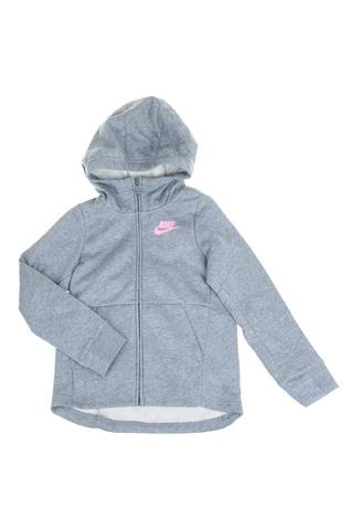 357122feda3 Παιδική φούτερ ζακέτα για κορίτσια Nike Sportswear γκρι (1644145.1-g988)    Factory Outlet