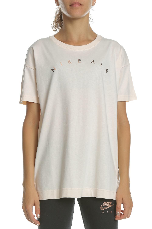 72cd619d70d6 NIKE - Γυναικεία κοντομάνικη μπλούζα NIKE NSW AIR TOP SS BASIC ροζ