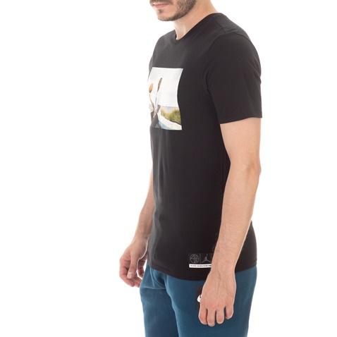 NIKE-Ανδρικό t-shirt NIKE JSW TEE HE GOT GAME JESUS μαύρο