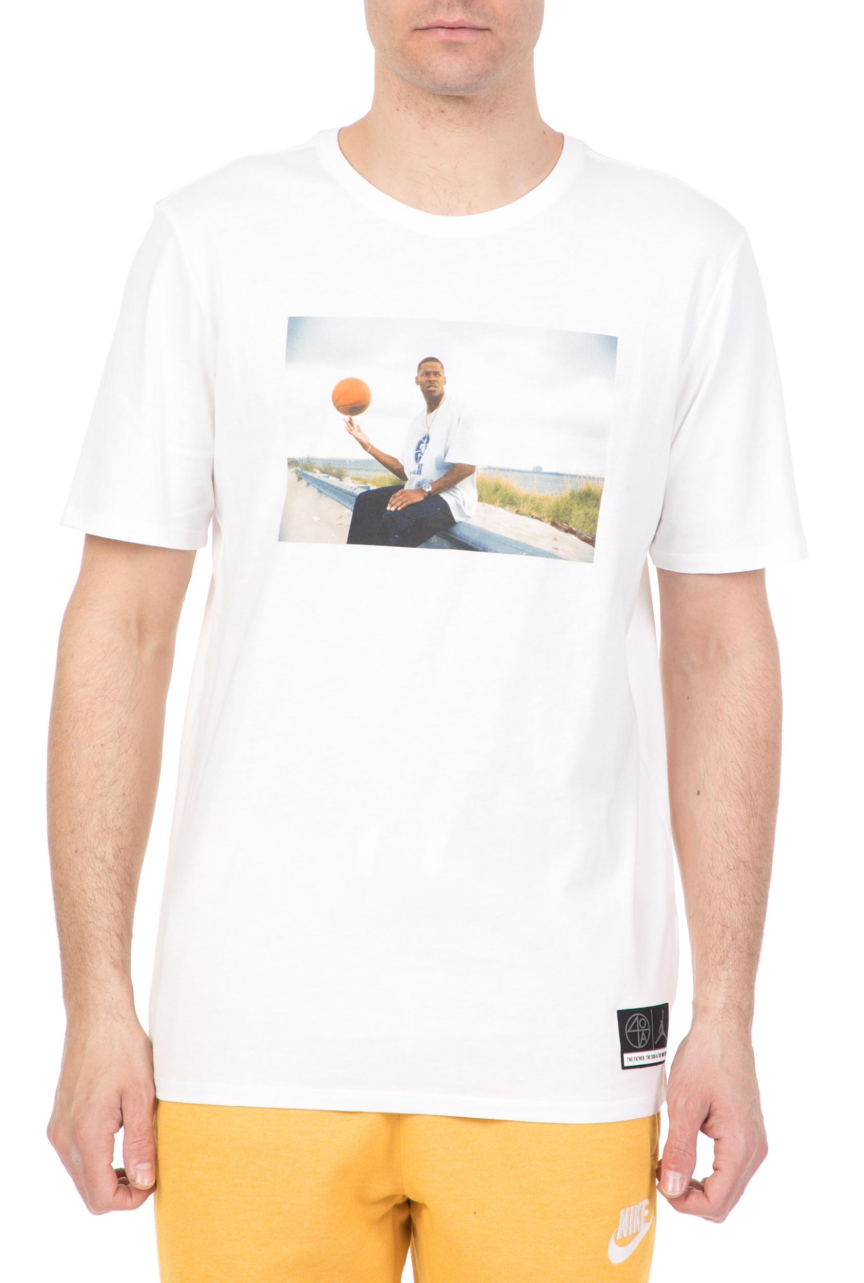 5ed936192ec8 NIKE - Ανδρικό t-shirt Jordan Sportswear  He Got Game  NIKE λευκό