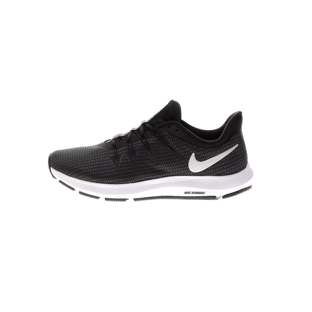 NIKE – Γυναικεία παπούτσια running Nike Quest μαύρα ασημί