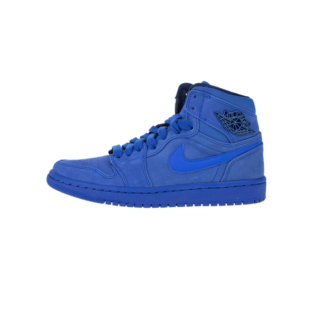 NIKE - Γυναικεία παπούτσια AIR JORDAN 1 RET HI PREM μπλε γυναικεία παπούτσια αθλητικά basketball